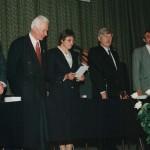 Pierwsza Inauguracja Roku Akademickiego - luty 1996