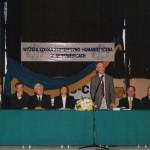 Inauguracja Roku Akademickiego 1999-2000 - przemawia prof. Jacek Hołówka